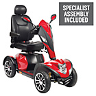 more details on Cobra 4 Wheel (Class 3) Mobility Scooter - Red.