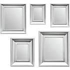 more details on Premier Housewares Set of 5 Silver Frame Mirrors.