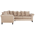 more details on Daisy Left Hand Corner Sofa Group - Mink with Coffee.