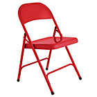 more details on Habitat Macadam Red Metal Folding Chair.