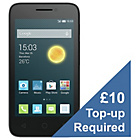 more details on Virgin Alcatel Pixi 3 4 Mobile Phone - Black.