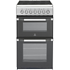 more details on Indesit IT50C1S Electric Cooker - Silver/Ins/Del/Rec.