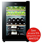 more details on Haier WS25GA Wine Cooler - Black.