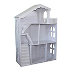 more details on Liberty House Toys Doll House Bookshelf Balcony - White.