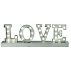 more details on Letters Love Lamp.