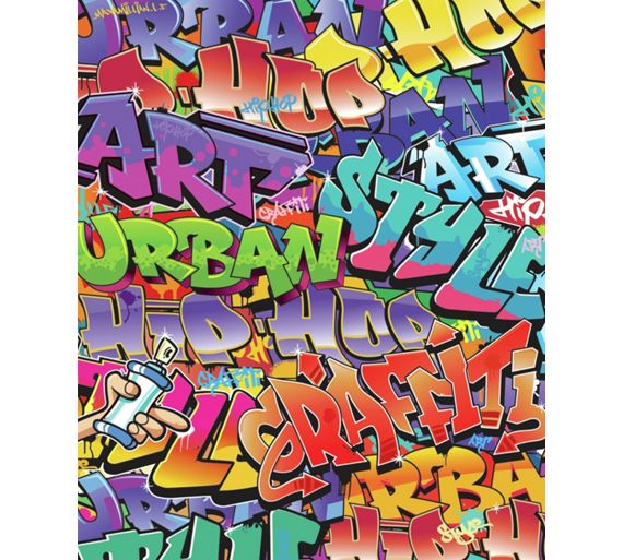 Walltastic Graffiti Wallpaper Mural: Buy Walltastic Graffitti Wallpaper Mural At Argos.co.uk