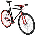 more details on Chill Bike 53cm with Red Rims - Black.