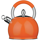 more details on Premier Housewares Whistling Kettle - Orange.