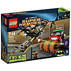 more details on LEGO Heroes Batman Joker Steam Roller - 76013.