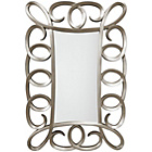 more details on Premier Housewares Champagne Finish Wall Mirror.