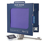 more details on Blue Badge Company Purple Display Case and Radar Key.