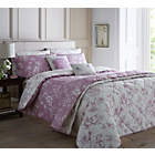 more details on Dreams N Drapes Chepstow Mauve Duvet Cover - Kingsize.