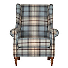 more details on Heart of House Argyll Fabric Chair - Skye Tartan.