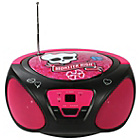 more details on Monster High AM and FM CD Boombox.