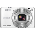 more details on Nikon S7000 Coolpix Compact 16MP 20x Zoom Camera - White.