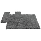 more details on Tufted Twist 2 Piece Bath Mat Set - Charcoal.