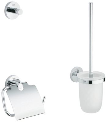 Buy toilet roll holders bathroom sets and fittings at for Bathroom accessories argos