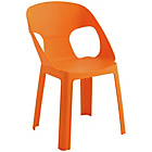 more details on Habitat Darla Plastic Kids Chair - Orange.