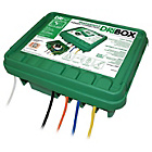more details on DriBox IP55 Large Waterproof Mains Connection Box - Green.