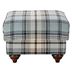 more details on Heart of House Argyll Footstool - Tartan Skye.