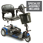 more details on Prism 3 Wheel (Class 2) Mobility Scooter - Blue.