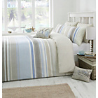 more details on Dreams N Drapes Falmouth Blue Duvet Cover Set - Kingsize.