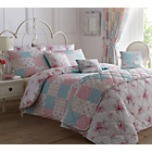 more details on Dreams N Drapes Patsy Rose Duvet Cover - Double.