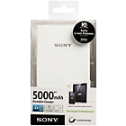 more details on Sony CP-V5W 5000mAh Charger - Flat White.