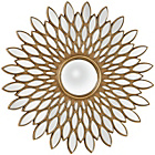 more details on Premier Housewares Alida Gold Wall Mirror.