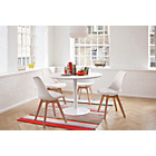 more details on Habitat Dining Set - Lance Table and 4 Jerry Chairs.
