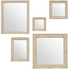 more details on Premier Housewares Baroque Set of 5 Cream Mirrors.