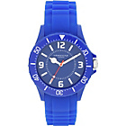 more details on Identity London Silicone Blue Strap Unisex Watch.