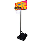 more details on Sure Shot Little Shot Basketball Unit Coloured Backboard