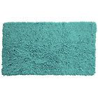 more details on Tufted Twist Bath Mat - Aqua.