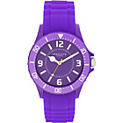 more details on Identity London Silicone Purple Strap Unisex Watch.