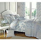 more details on Dreams N Drapes Malton Blue Duvet Cover - Kingsize.