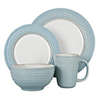 more details on Denby Intro Dinner Set - Duck Egg Blue.