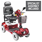 more details on Regatta 4 Wheel (Class 3) Mobility Scooter - Red.