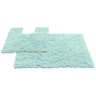 more details on Tufted Twist 2 Piece Bath Mat Set - Duckegg.