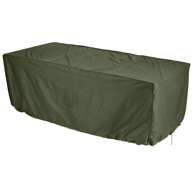 Buy Gardman Rectangular 4 To 6 Seater Patio Set Cover Green At Your Online Shop