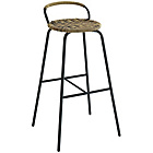 more details on Habitat Mickey Black and Natural Bar Stool.