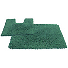 more details on Tufted Twist 2 Piece Bath Mat Set - Jade.