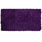more details on Tufted Twist Bath Mat - Aubergine.