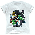 more details on Minecraft Girls' Party T-Shirt - 7-8 Years.
