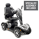 more details on Cobra 4 Wheel (Class 3)  Mobility Scooter - Silver.