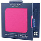 more details on Blue Badge Company Pink Panama Display Wallet.