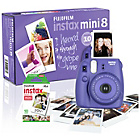 more details on Fujifilm Instax Mini 8 Camera with 10 Shots - Purple