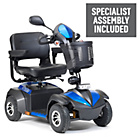 more details on Envoy 4 Wheel (Class 3) 6mph Mobility Scooter - Blue.
