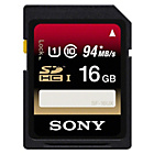 more details on Sony 16GB Class 10 UHS-I Micro SDHC Memory Card.
