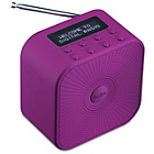 more details on Alba Mono DAB Radio - Purple